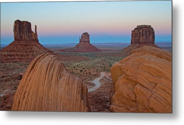 Monument Valley Evening Metal Print