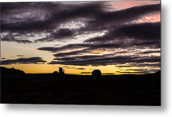Metal Print featuring the photograph Monument Valley First Light by Todd Aaron