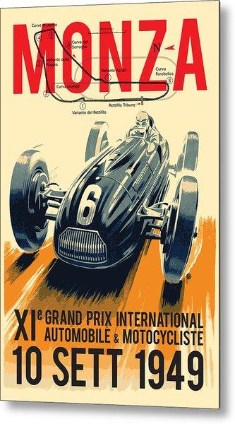 Monza Grand Prix Metal Print