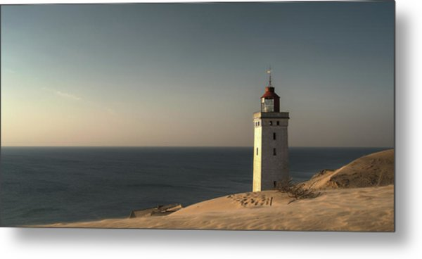 Mood At The Lighthouse Metal Print
