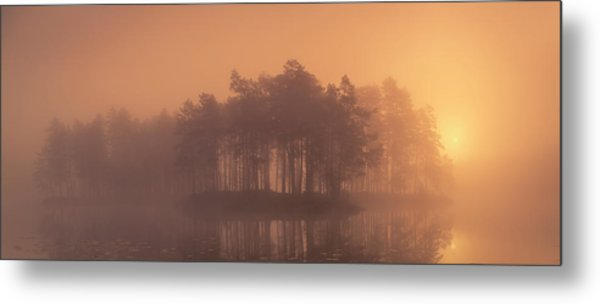 Moody Metal Print by Andreas Christensen