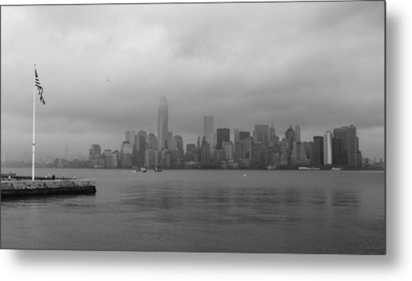 Moody Manhattan Metal Print