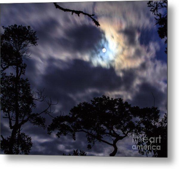 Moon Break Metal Print