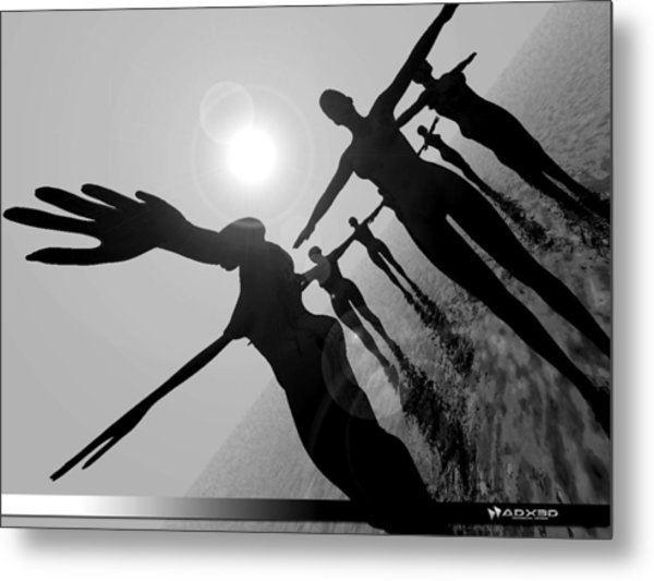 Moon Dancers Metal Print