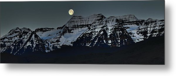 Moon Fall Metal Print