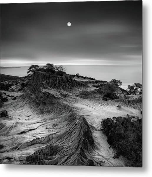 Moon Over Broken Hill Metal Print