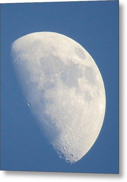 Moon Rise Copperville Metal Print