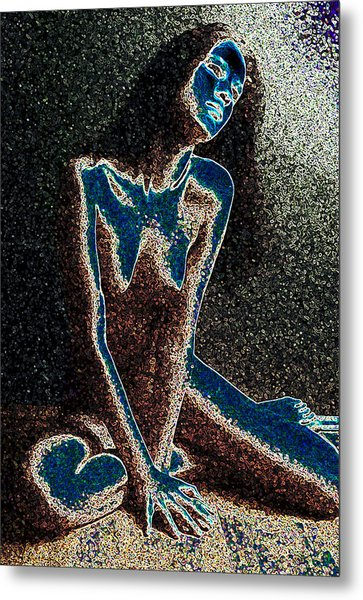 Moonblind Muse Metal Print