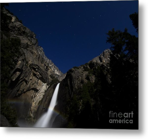 Moonbow And The Big Dipper Metal Print
