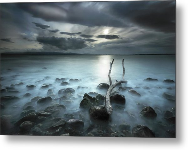 Moonland Metal Print by Martin Marcisovsky