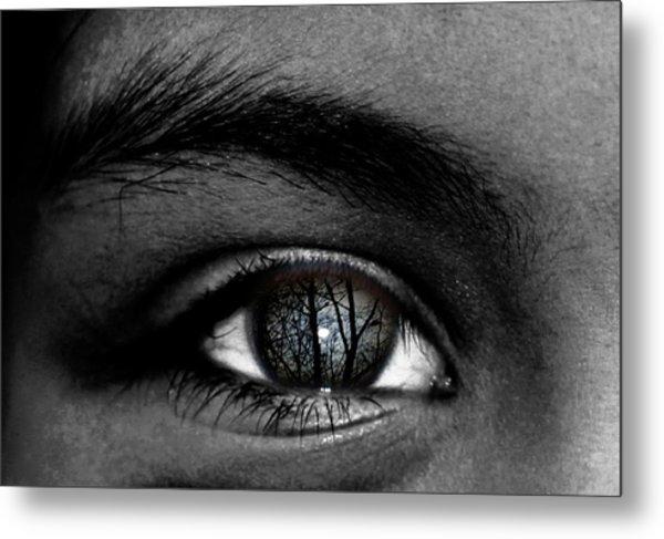 Moonlight In Your Eyes Metal Print