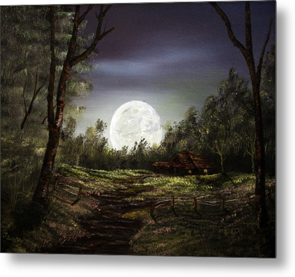 Moonlight  Metal Print by Jamil Alkhoury