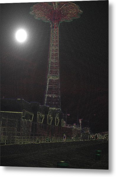 Moonlight Metal Print by King Mezidor