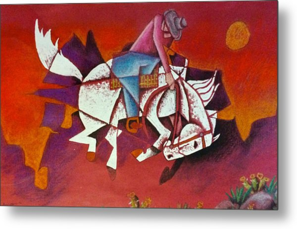 Moonlight Ride Metal Print