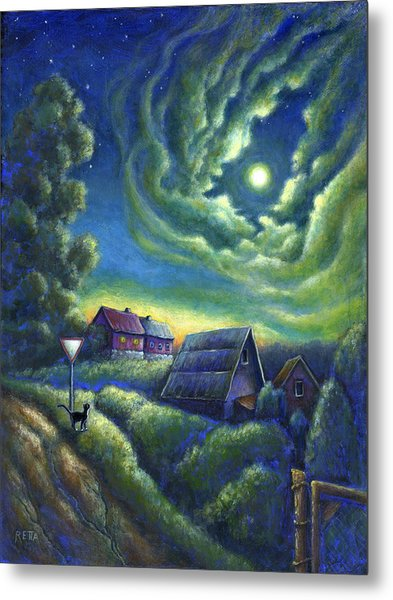 Moonlit Dreams Come True Metal Print