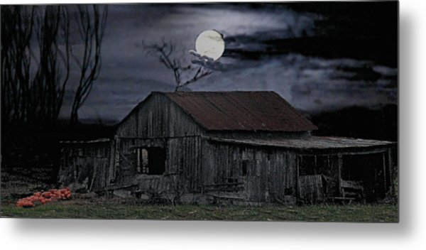 Moonshine Nights Metal Print