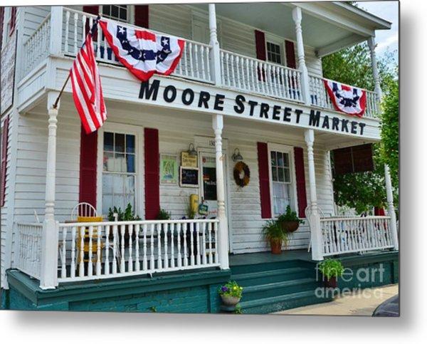 Moore Street Market Metal Print