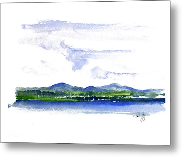Moosehead Lake Metal Print