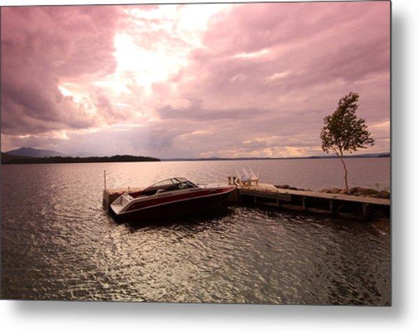 Moosehead Lake Metal Print by Ryan Hord