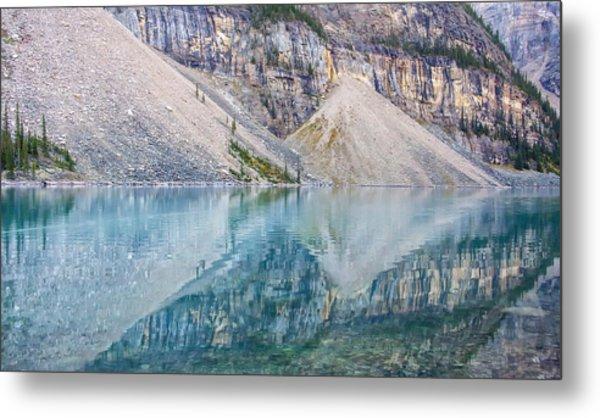 Moraine Lake Panorama A Metal Print