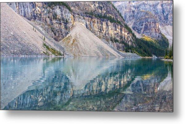 Moraine Lake Panorama B Metal Print