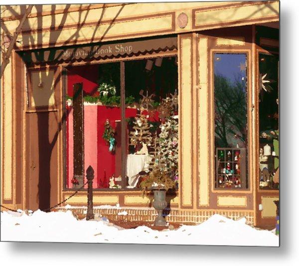 Moravian Book Shop Bethlehem Pa Metal Print