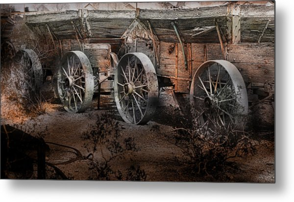 More Wagons East Metal Print