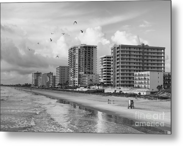 Morning At Daytona Beach Metal Print