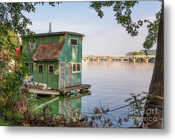Metal Print featuring the photograph Morning At Latsch Island by Kari Yearous