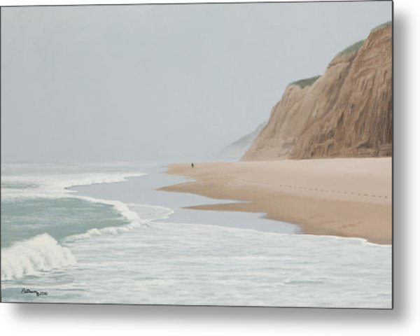 Morning At Pomponio 2 Metal Print
