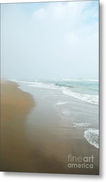 Morning At Sea Metal Print by Sharon Kalstek-Coty