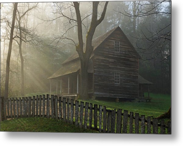 Morning At The Tipton Place Metal Print by Deb Campbell