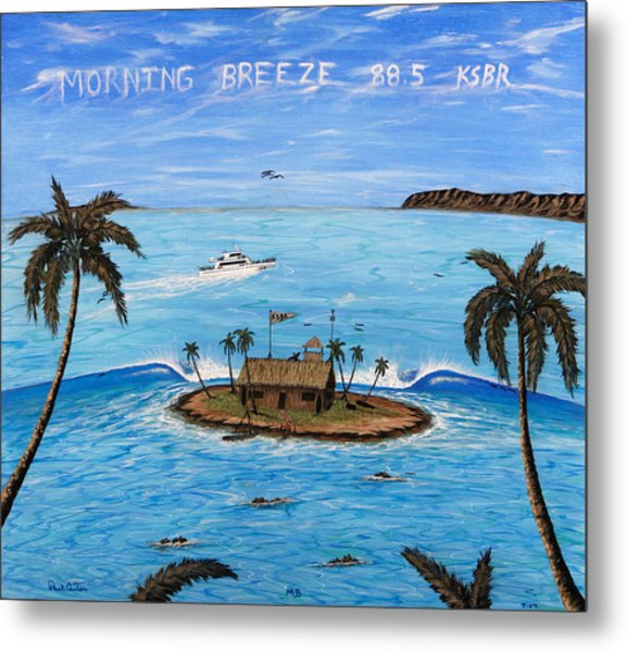 Morning Breeze Cruise Metal Print