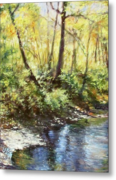 Morning By The River Metal Print