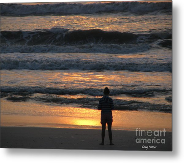 Morning Has Broken Metal Print by Greg Patzer