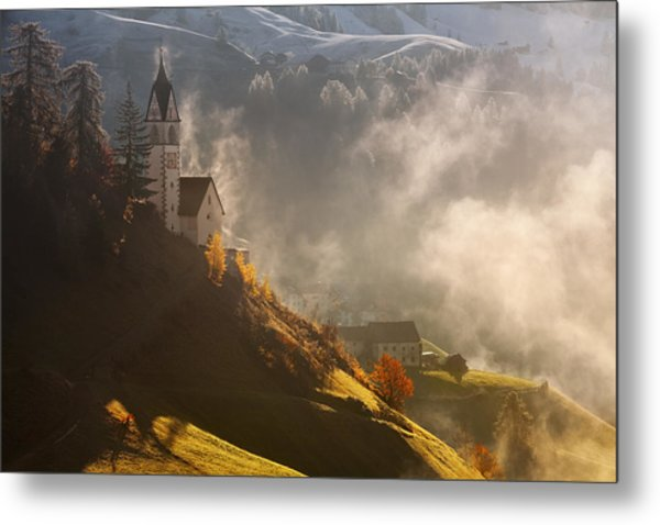 Morning In Alpine Valley Metal Print