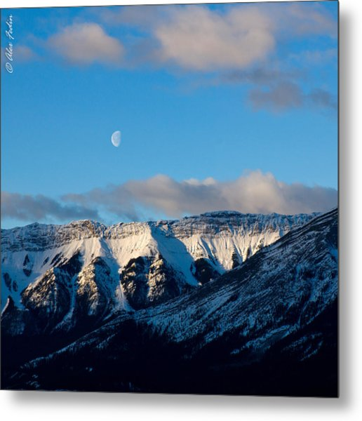 Morning In Mountains Metal Print