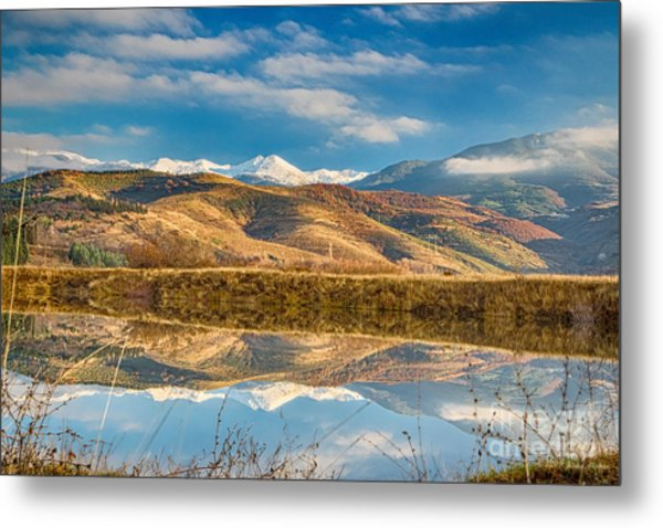 Morning In Pirin Mountain Metal Print