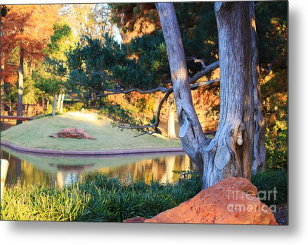 Morning In The Park Metal Print
