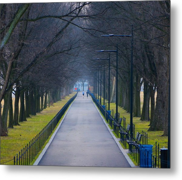 Morning In Washington D.c. Metal Print