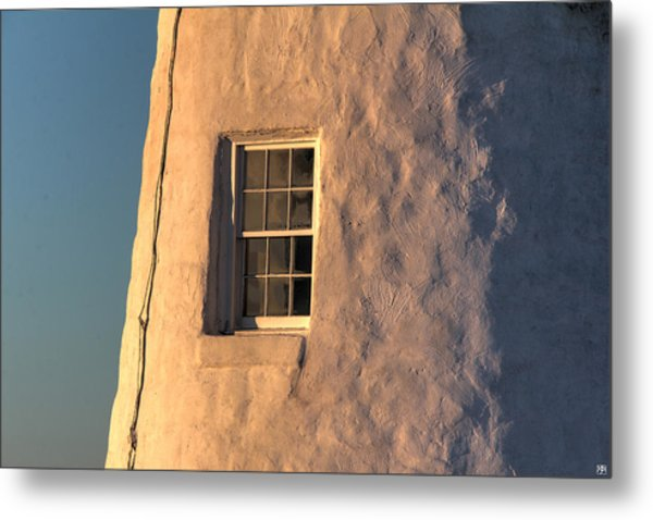 Morning Light At Pemaquid Metal Print
