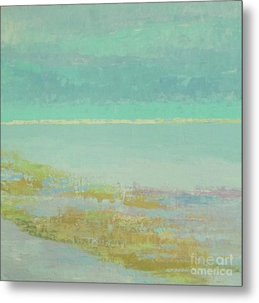 Morning Low Tide Metal Print