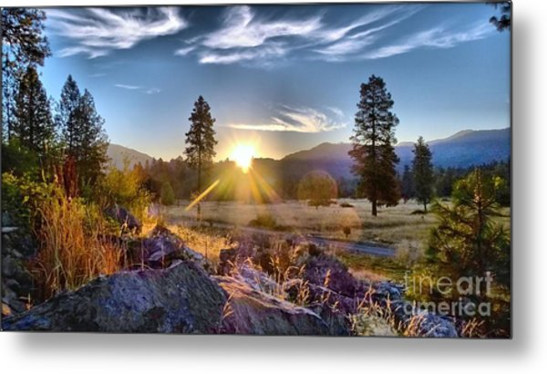 Morning Magic Metal Print