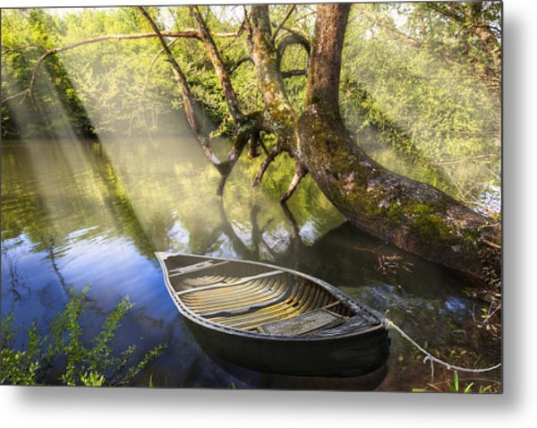 Morning Mists Metal Print