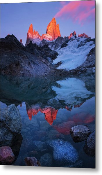 Morning Of Tranquility Metal Print by Yan Zhang