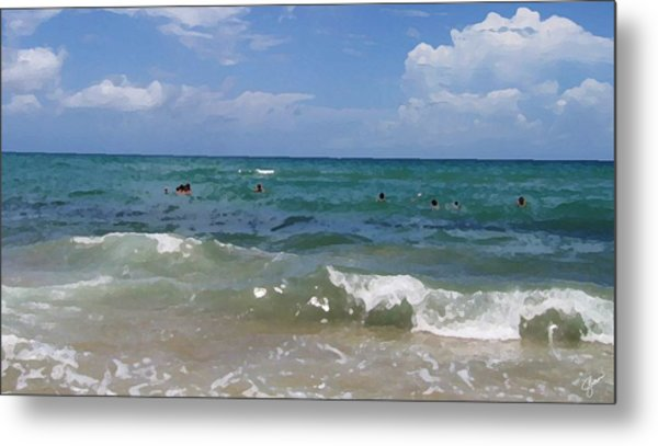 Morning On Boynton Beach 3 Metal Print by Shawn Lyte