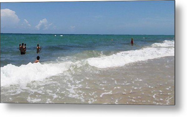 Morning On Boynton Beach 4 Metal Print by Shawn Lyte