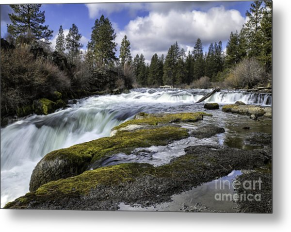 Morning On The Deschutes Metal Print