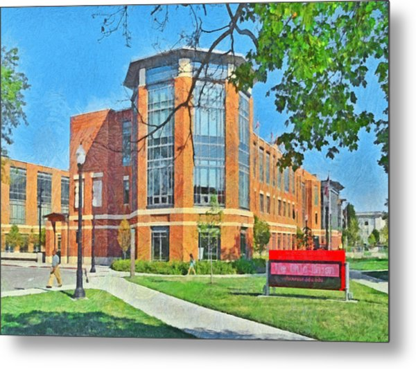 Student Union. The Ohio State University Metal Print