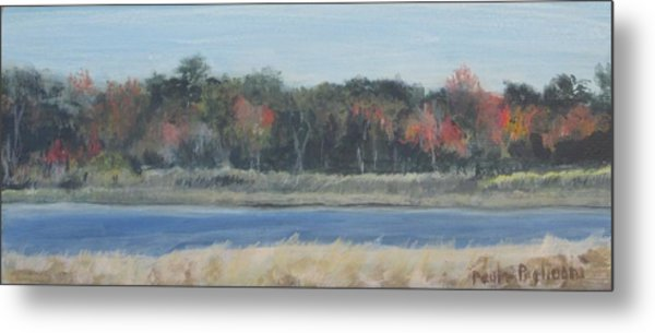 Morning On The Maurice River Metal Print